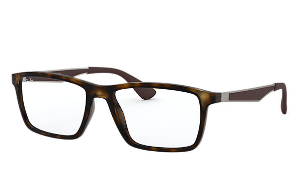 Ray-Ban 0RX7056-RB7056 Havana; Gunmetal OPTICAL