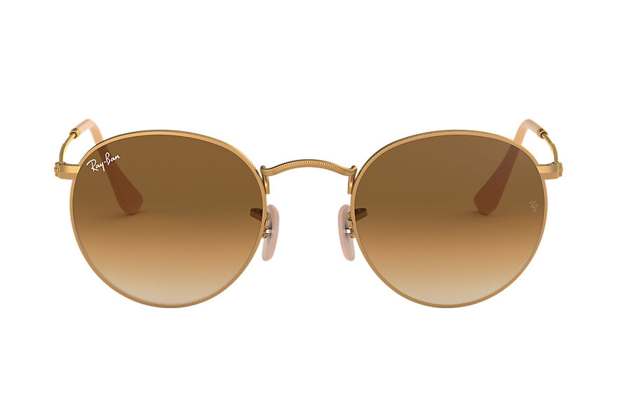 Ray-Ban  sunglasses RB3447 UNISEX 006 round metal matte gold 8053672405163