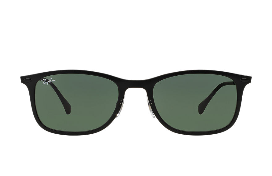 Ray-Ban NEW WAYFARER LIGHT RAY Black with Green Classic lens