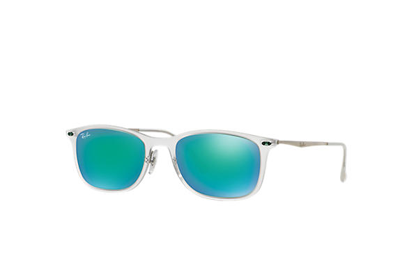 Ray-Ban		 NEW WAYFARER LIGHT-RAY Tortoise met brillenglas Groen Spiegel