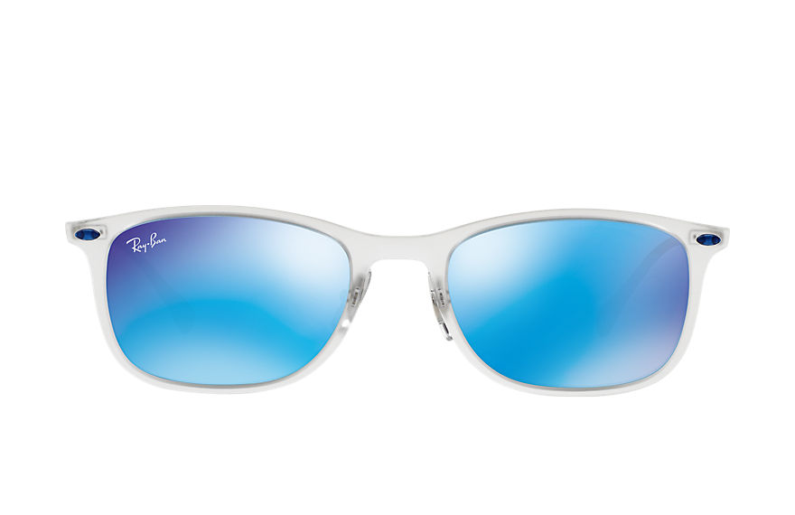 Ray-Ban  sunglasses RB4225 UNISEX 003 新徒步旅行者·超轻金属 透明色 8053672405521