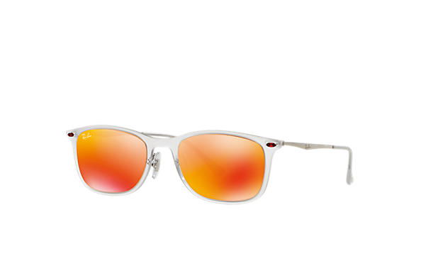 Ray-Ban 0RB4225-NEW WAYFARER LIGHT RAY Transparente; Chumbo SUN