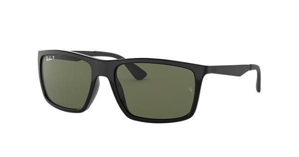 bc8350590a Ray-Ban RB4228 Black - Nylon - Green Polarized Lenses - 0RB4228601 9A58
