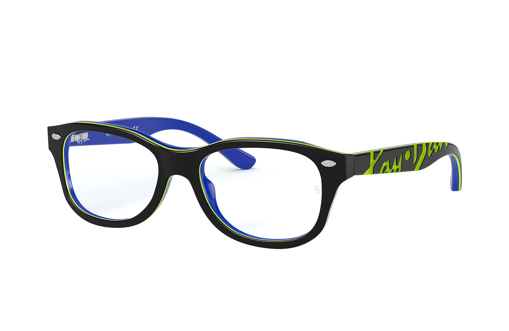 c2ab98e53c Ray-Ban prescription glasses RY1544 Grey - Acetate - 0RY1544360048 ...