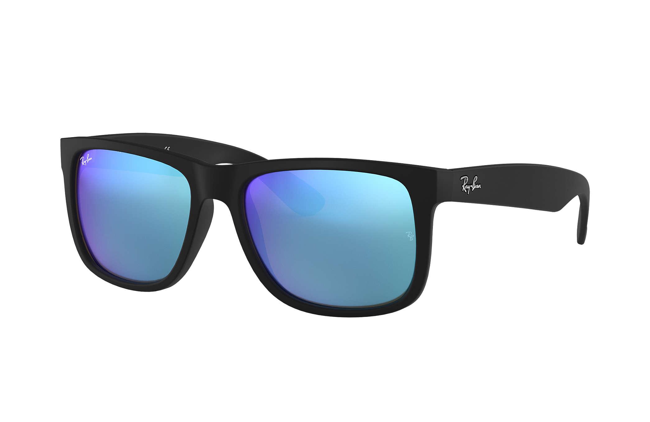 f17b121b87 Ray-Ban Justin Color Mix RB4165F Black - Nylon - Blue Lenses ...