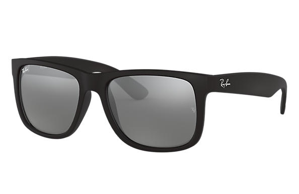 Ray-Ban 0RB4165F-JUSTIN COLOR MIX LOW BRIDGE FIT 黑色 SUN