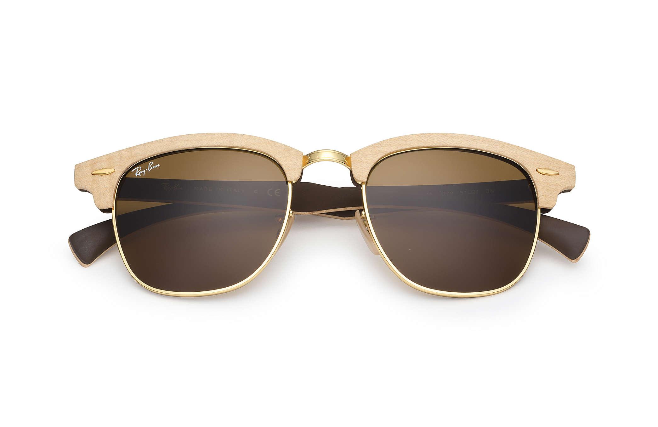 6cb6e057441db ... czech ray ban 0rb3016m clubmaster wood light brown sun 1ca5f 7b182