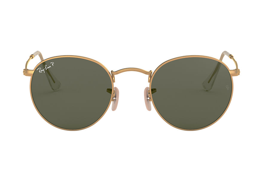 Ray-Ban  sunglasses RB3447 UNISEX 007 round metal gold 8053672416107