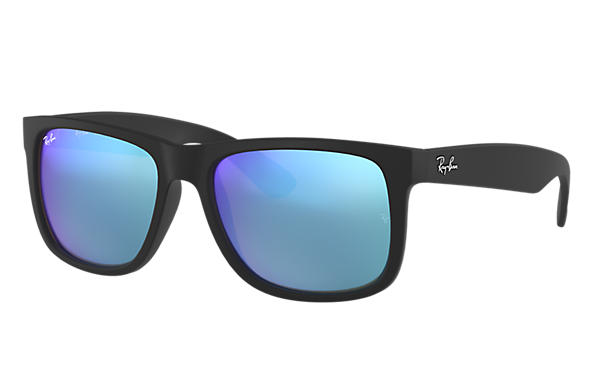 8cad39662 Ray-Ban Justin Color Mix RB4165 Black - Nylon - Blue Lenses ...