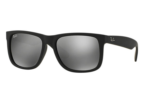Ray-Ban 0RB4165-JUSTIN COLOR MIX Zwart SUN