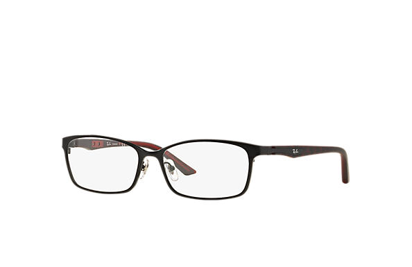 Ray-Ban 0RX8735D-RB8735D Black; Black,Red OPTICAL