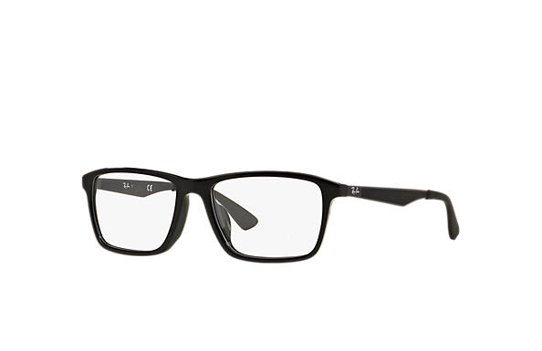 Ray-Ban 0RX7056F-RB7056F 黑色; 枪色 OPTICAL