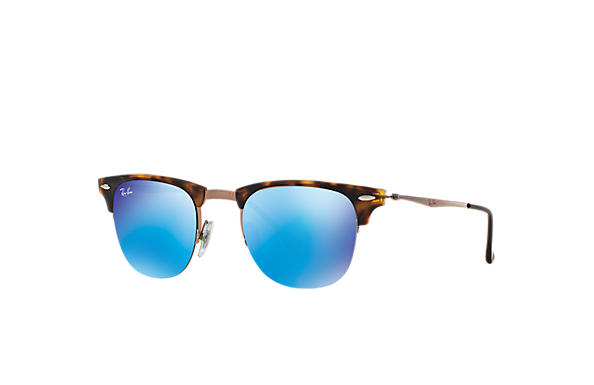 Ray-Ban 0RB8056-CLUBMASTER LIGHT RAY Tortoise; Brown SUN