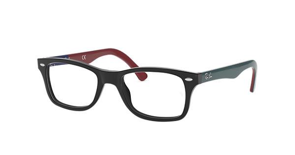 Óculos de grau Ray-Ban RB5228 Preto - Acetato - 0RX5228554453  fc6dff9391908