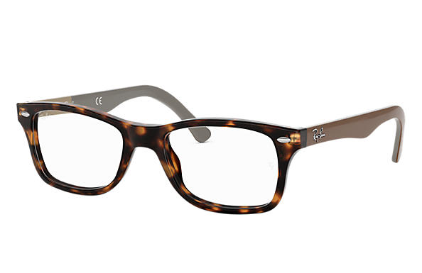 Ray-Ban 0RX5228-RB5228 Habana; Marrón OPTICAL