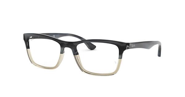 cc3973e2aaf Ray-Ban eyeglasses RB5279 Grey - Acetate - 0RX5279554053