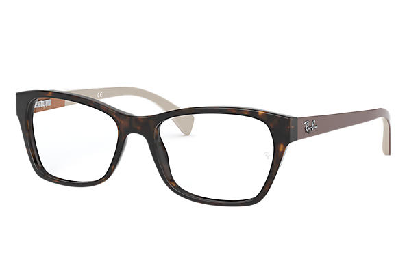 Ray-Ban 0RX5298-RB5298 Tartaruga; Marrone OPTICAL