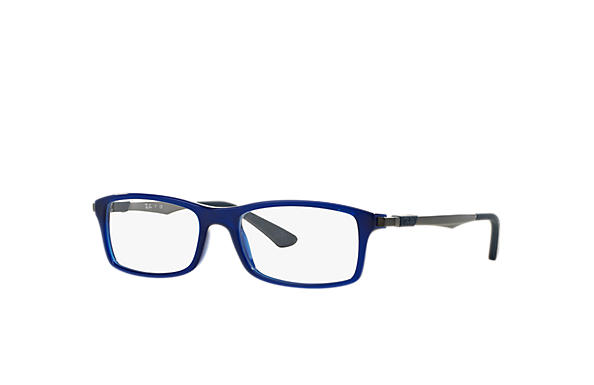 Ray-Ban 0RX7017-RB7017 Azul; Chumbo OPTICAL