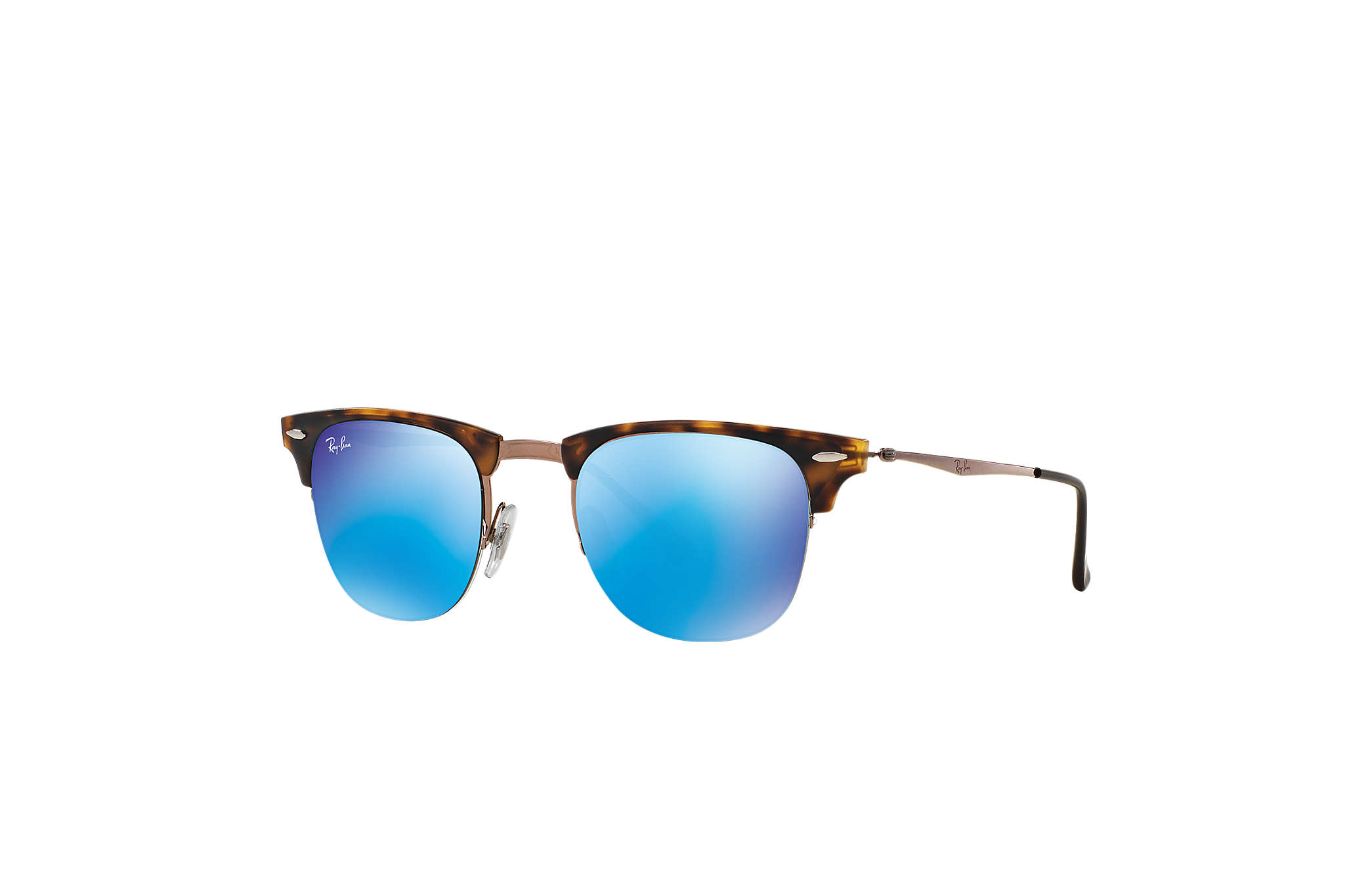 bd33e05d5e Ray-Ban Clubmaster Light Ray RB8056 Tortoise - LightRay Titanium ...