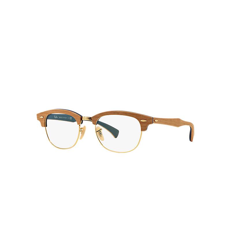Image of Ray-Ban Brown Eyeglasses - Rb5154m