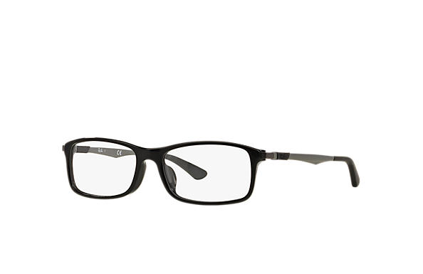 Ray-Ban 0RX7017F-RB7017F Black; Gunmetal OPTICAL