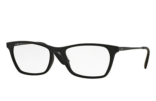 Ray-Ban 0RX7053F-RB7053F Black OPTICAL