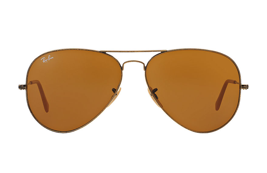 Ray-Ban  sunglasses RB3025 UNISEX 061 飞行员·仿旧 金 8053672436457
