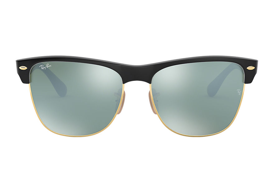 Ray-Ban		 CLUBMASTER OVERSIZED FLASH LENSES Brons-Koper met brillenglas Zilver Flash