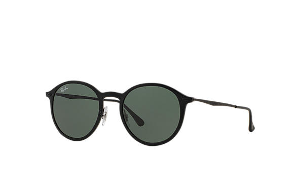 Ray-Ban Round Light Ray RB4224 Black - LightRay Titanium - Green ...