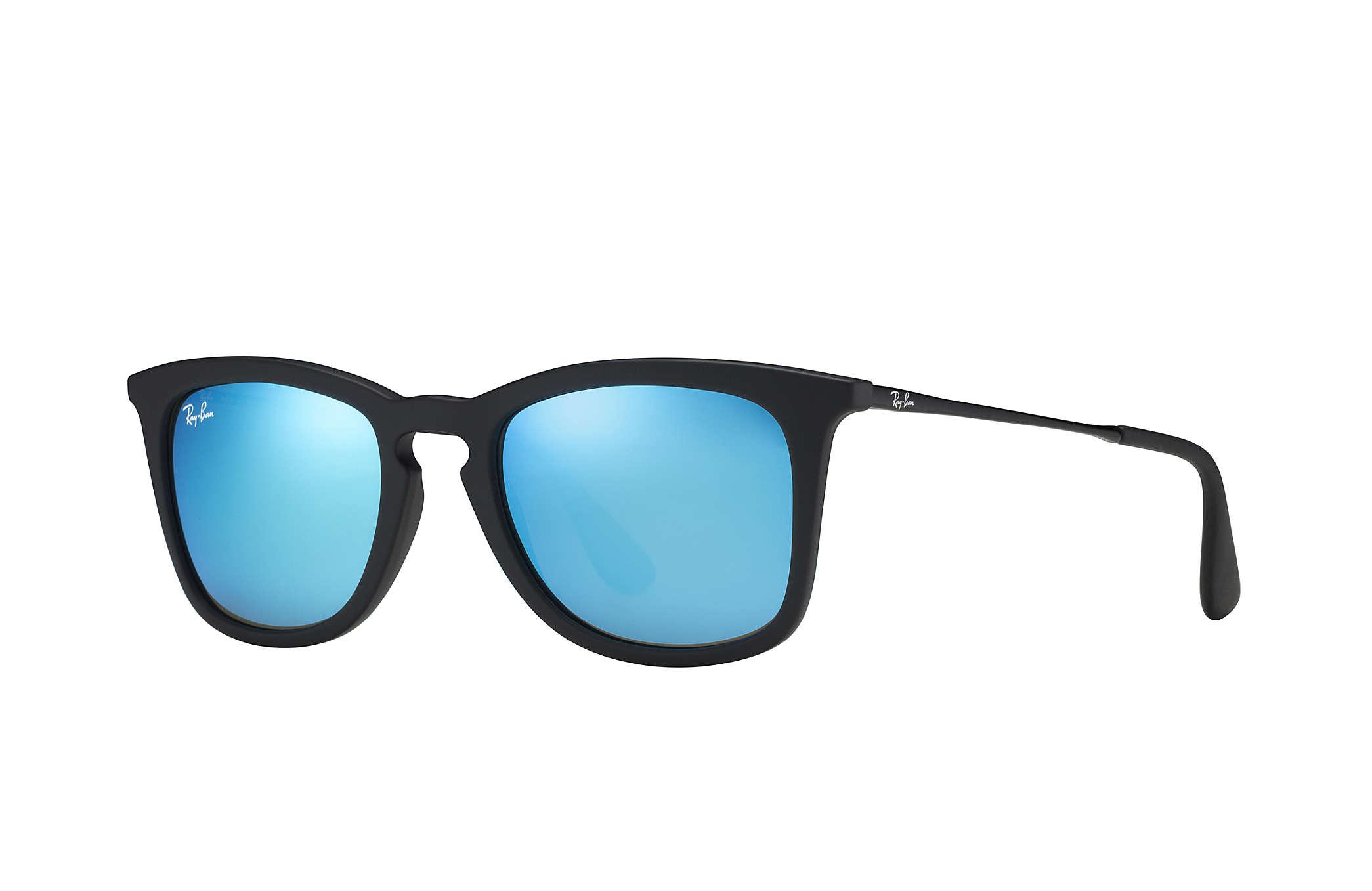 ray ban aviator blaue gläser