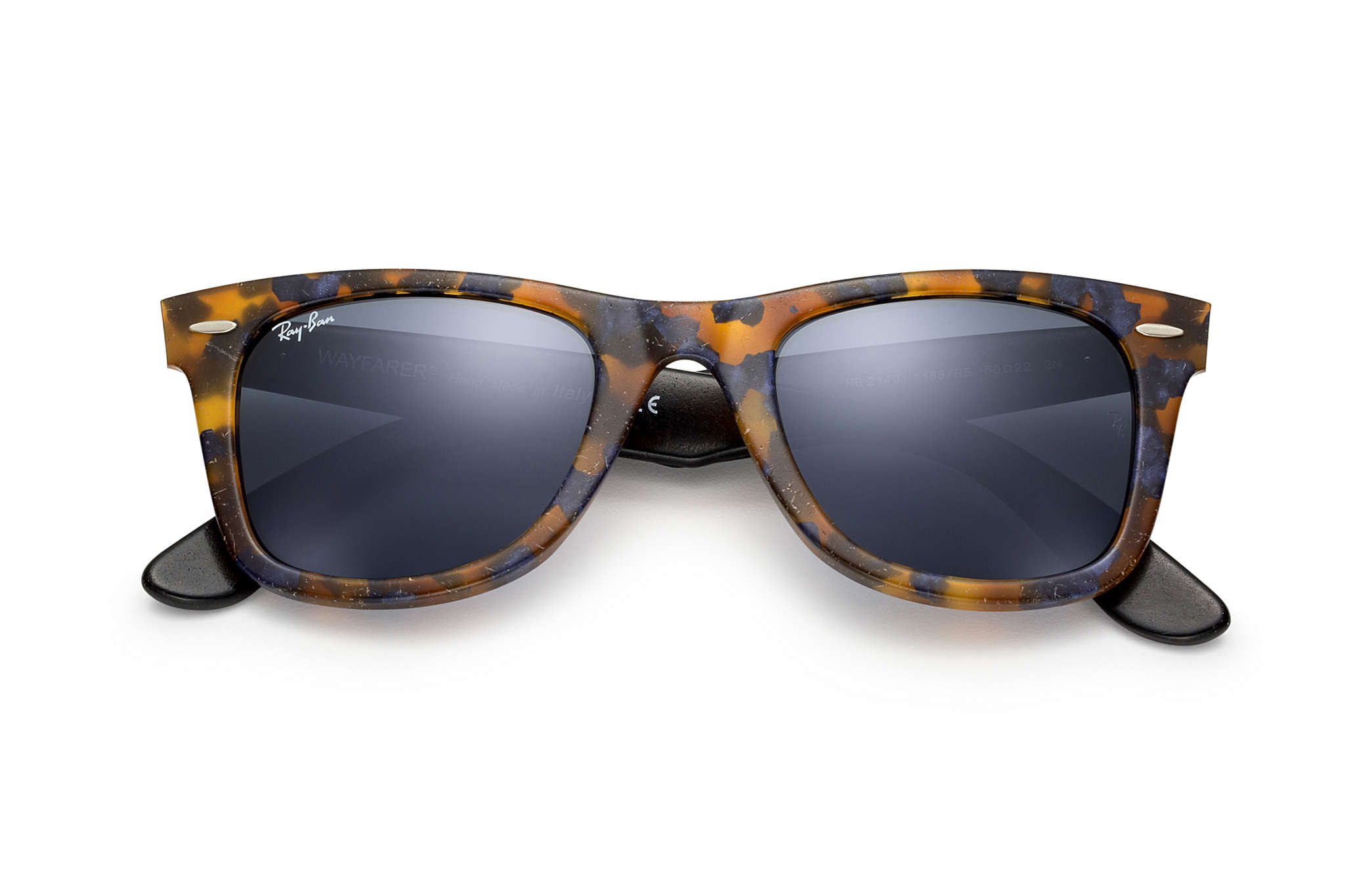 8f80515637 ... new zealand ray ban 0rb2140 original wayfarer distressed blue black sun  1efc3 5ed92