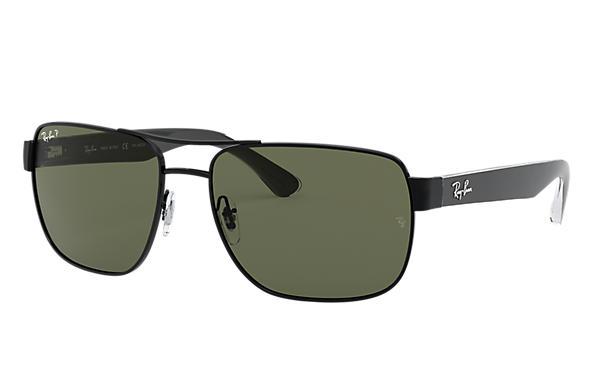 a66426c4b8 Ray-Ban RB3530 Black - Metal - Green Polarized Lenses - 0RB3530002 ...