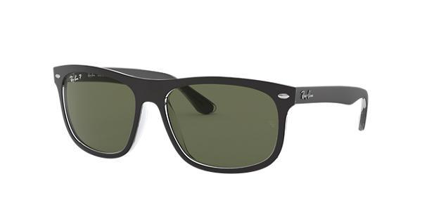 84d61f9b104 Ray-Ban RB4226 Black - Nylon - Green Polarized Lenses - 0RB422660529A56