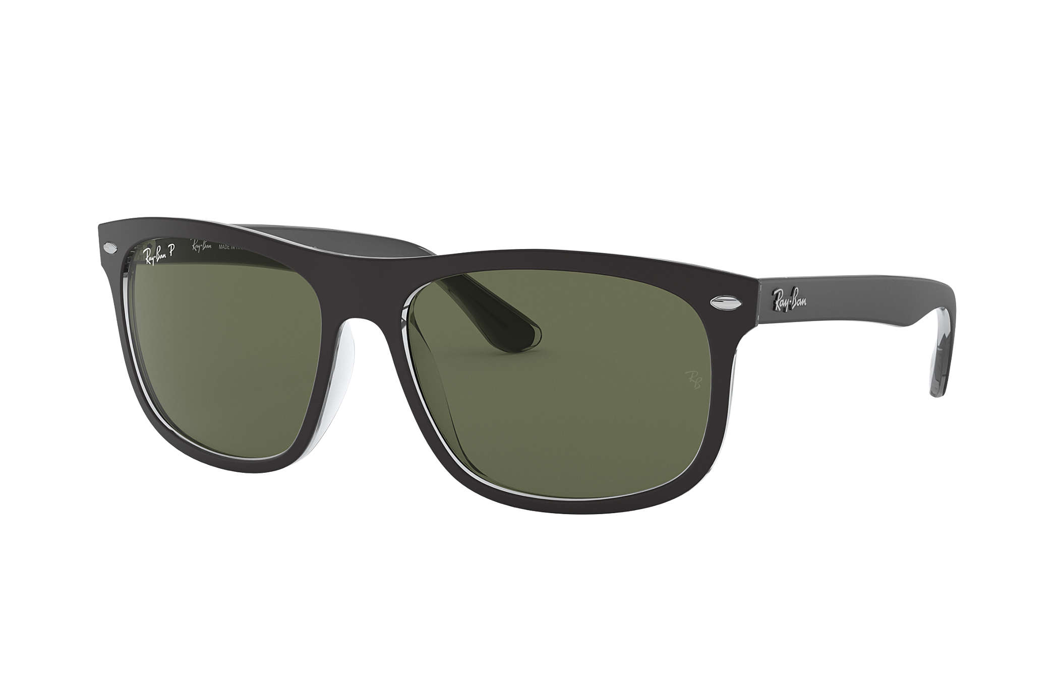 8f4d57cbbc Ray-Ban RB4068 Tortoise - Nylon - Brown Polarized Lenses ...