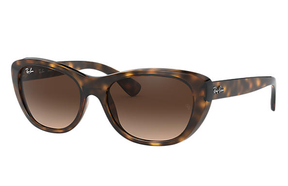 6be5e512a8 Ray-Ban RB4227 Tortoise - Nylon - Brown Lenses - 0RB4227710 1355 ...