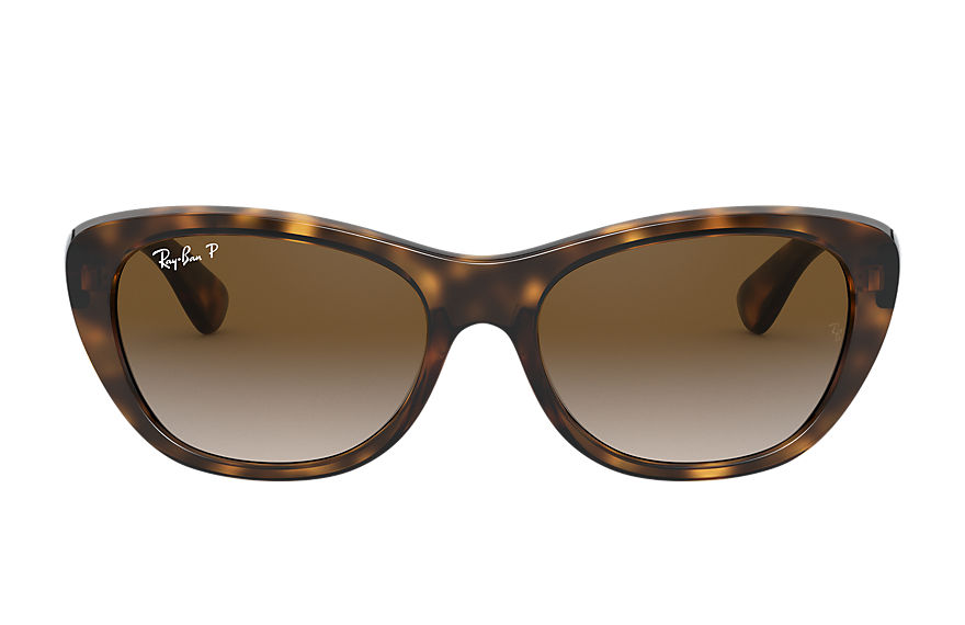 Ray-Ban RB4227 Tortoise with Brown Gradient lens