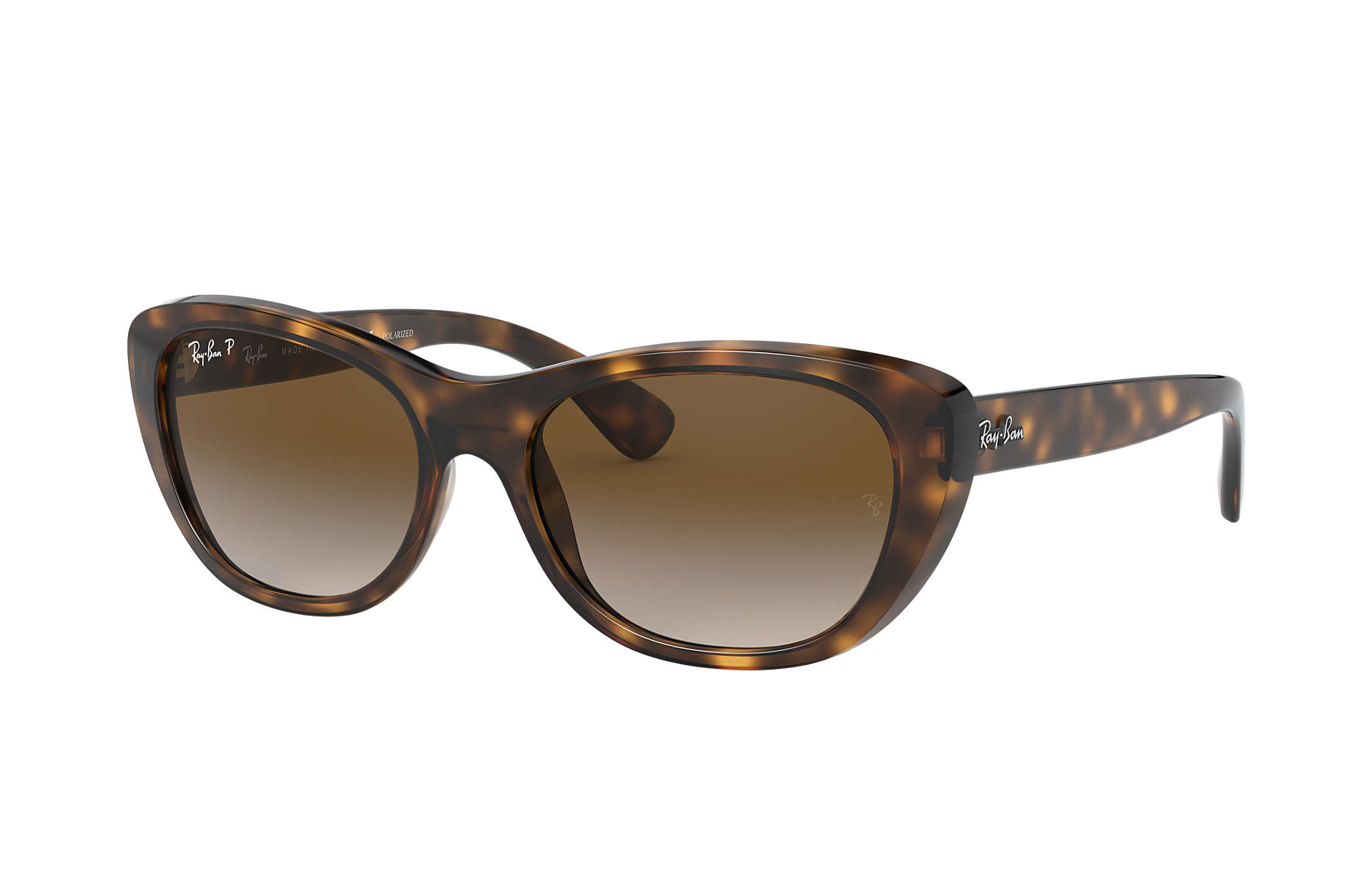 4093ee6407 Ray-Ban RB4068 Tortoise - Nylon - Brown Polarized Lenses ...