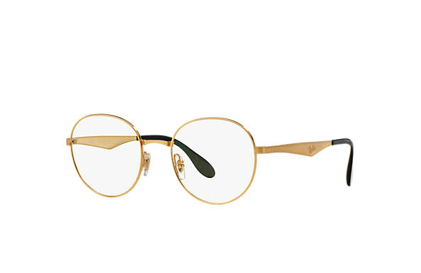 Ray-Ban 0RX6343-RB6343 金色 OPTICAL