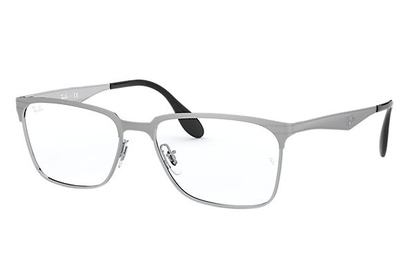 0366f55cf09 Ray-Ban prescription glasses RB6344 Gunmetal - Metal - 0RX6344255354 ...