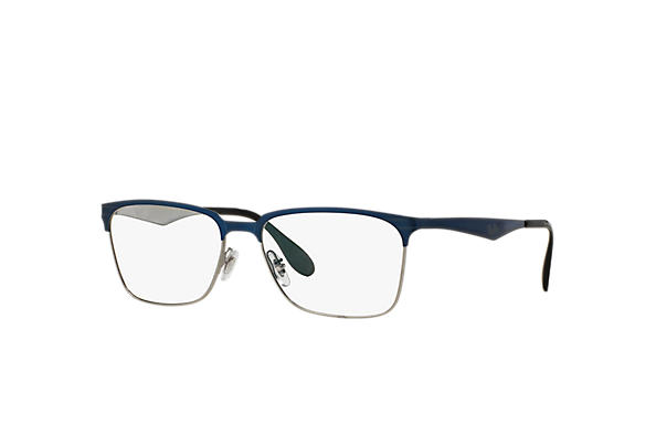 Ray-Ban 0RX6344-RB6344 Bleu,Gun OPTICAL