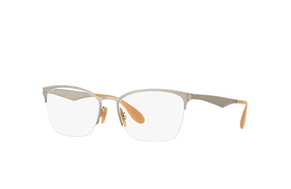 Ray-Ban 0RX6345-RB6345 Plata OPTICAL