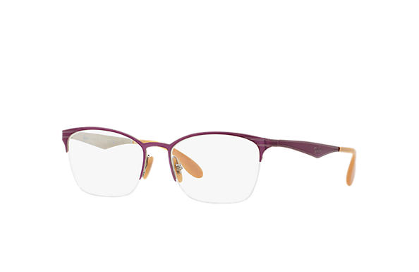 Ray-Ban 0RX6345-RB6345 Violet,Silver OPTICAL