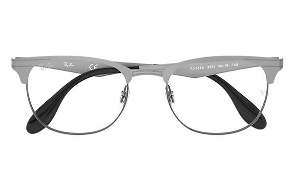 52bea4685cfb8 Ray-Ban prescription glasses RB6346 Gunmetal - Metal - 0RX6346255352 ...