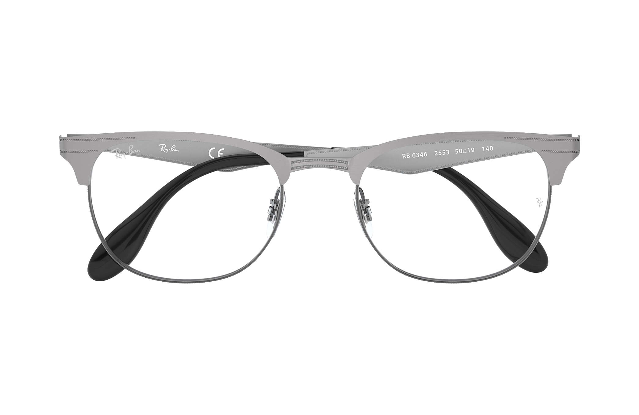 f311d6d8353 Ray-Ban eyeglasses RB6346 Gunmetal - Metal - 0RX6346255352
