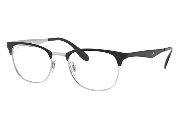 Ray-Ban 0RX6346-RB6346 Black,Silver OPTICAL
