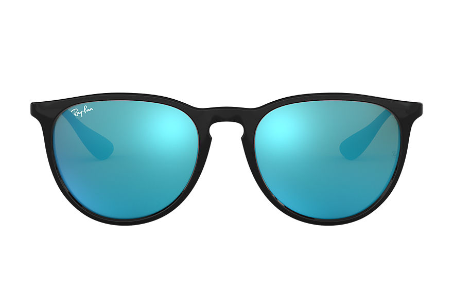 Ray-Ban ERIKA COLOR MIX Black with Blue Mirror lens