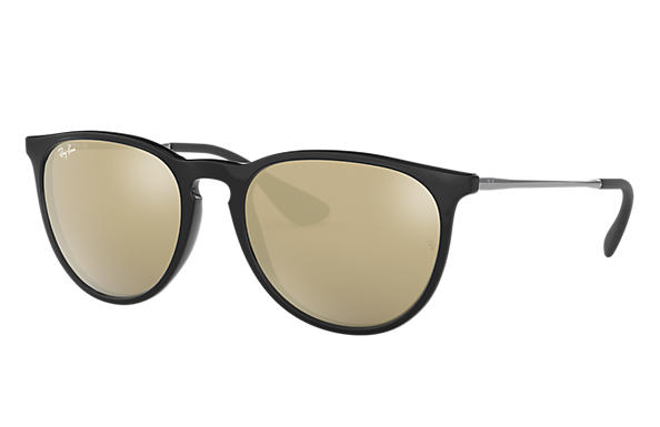 5ff3872fa5 Ray-Ban Erika Color Mix RB4171 Black - Nylon - Gold Lenses ...