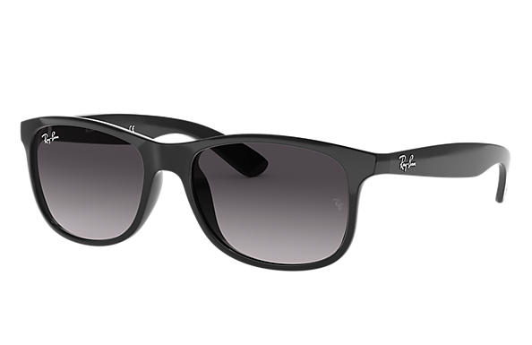 Ray-Ban Sunglasses ANDY Black with Grey Gradient lens