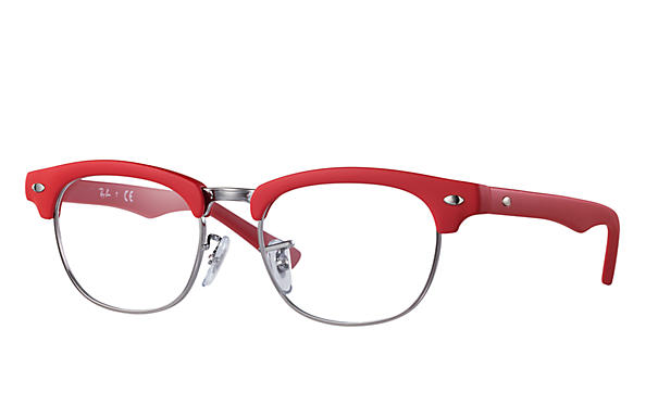 Ray-Ban 0RY1548-CLUBMASTER JUNIOR OPTICS Red OPTICAL