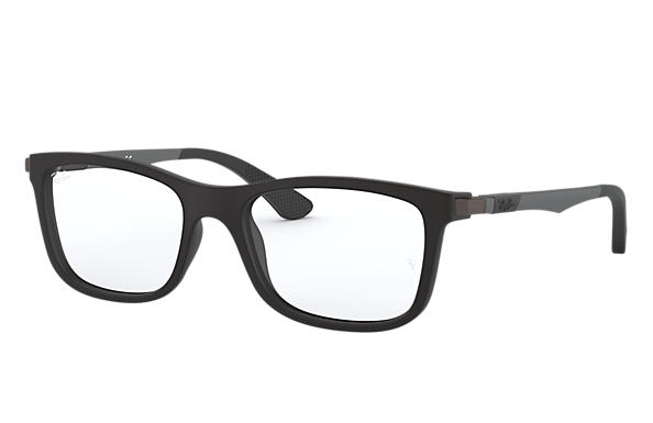 Ray-Ban 0RY1549-RB1549 Zwart; Staalgrijs OPTICAL
